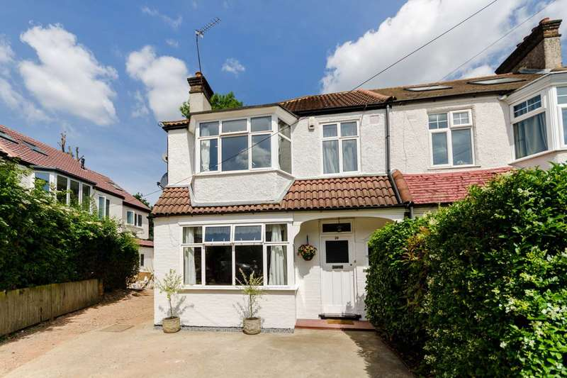 3 Bedrooms End Of Terrace House for sale in Firstway, Raynes Park, SW20