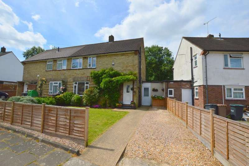 3 Bedrooms Semi Detached House for sale in Castlecroft Road, Farley Hill, Luton, LU1 5RJ