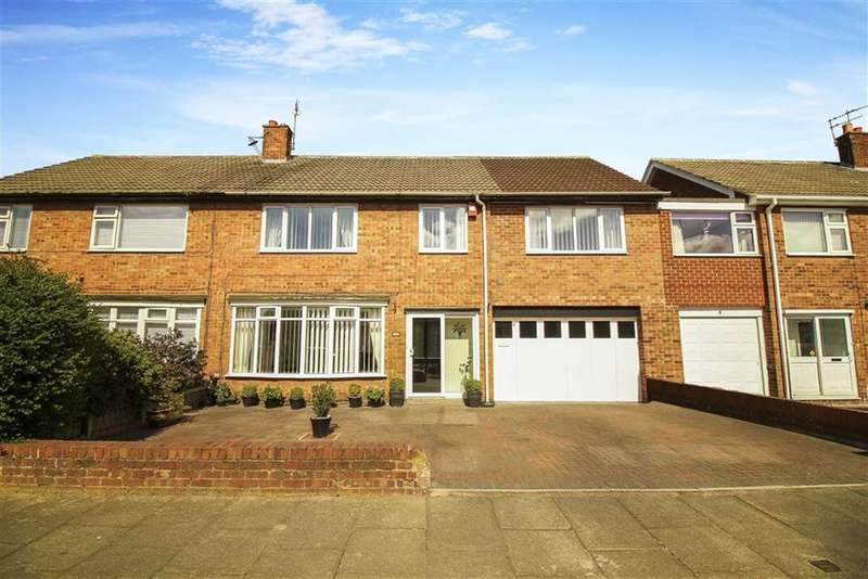 5 Bedrooms Semi Detached House for sale in Whitecliff Close, North Shields, Tyne And Wear