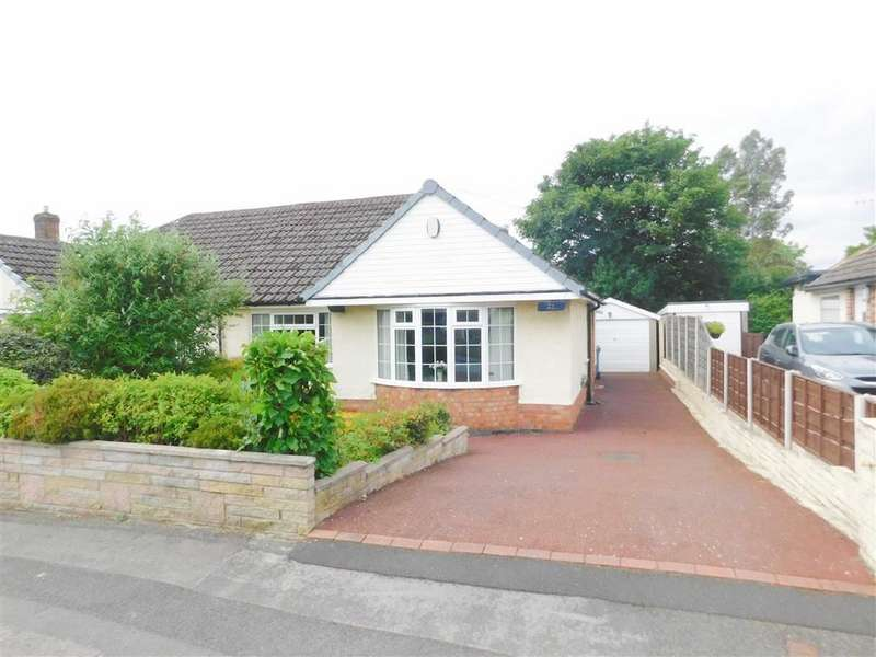3 Bedrooms Semi Detached Bungalow for sale in Patterdale Road, Woodley, Stockport