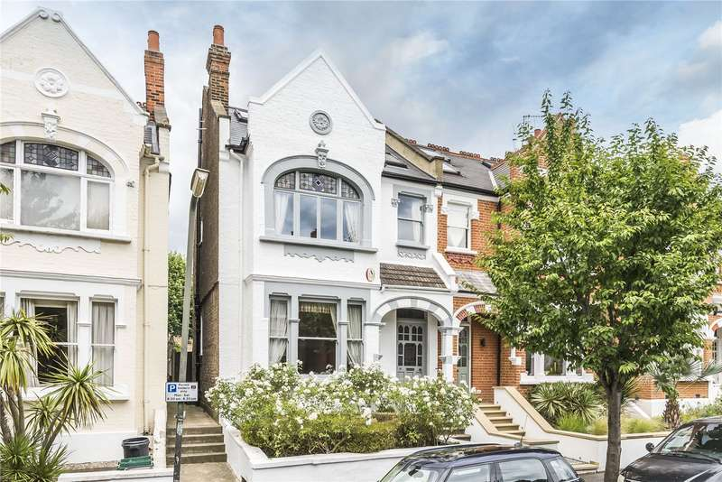 5 Bedrooms Semi Detached House for sale in Bernard Gardens, London, SW19