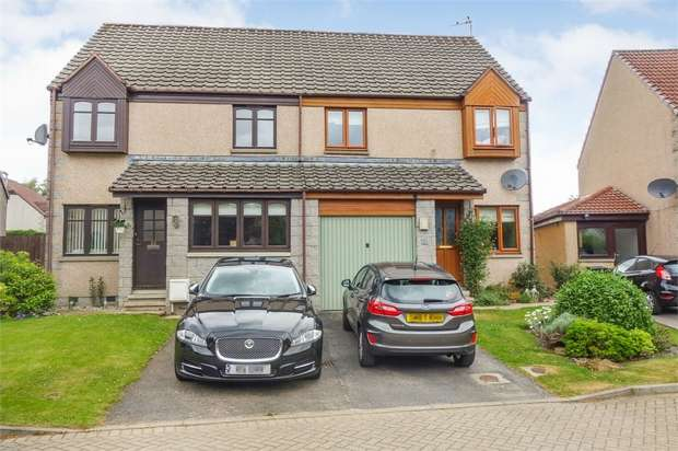 3 Bedrooms Semi Detached House for sale in Callum Park, Kingswells, Aberdeen
