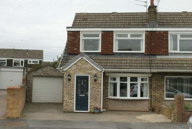 3 Bedrooms Semi Detached House for sale in Falcon Way, Galley Hill, Guisborough