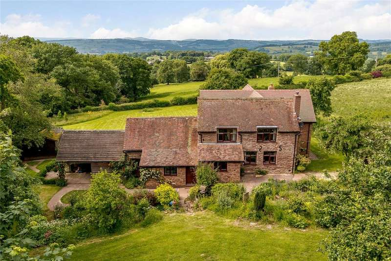 4 Bedrooms Detached House for sale in Postons, Cold Weston, Ludlow, Shropshire
