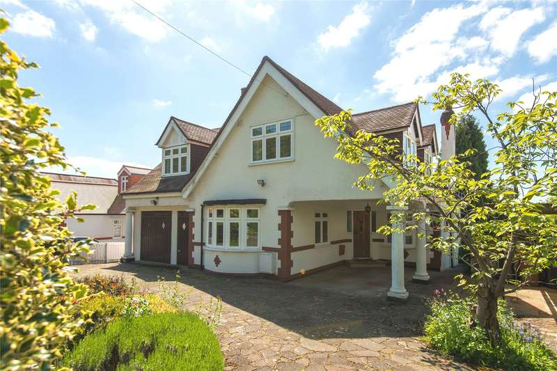 5 Bedrooms Detached House for sale in The Ridgeway, Northaw, Potters Bar, Hertfordshire