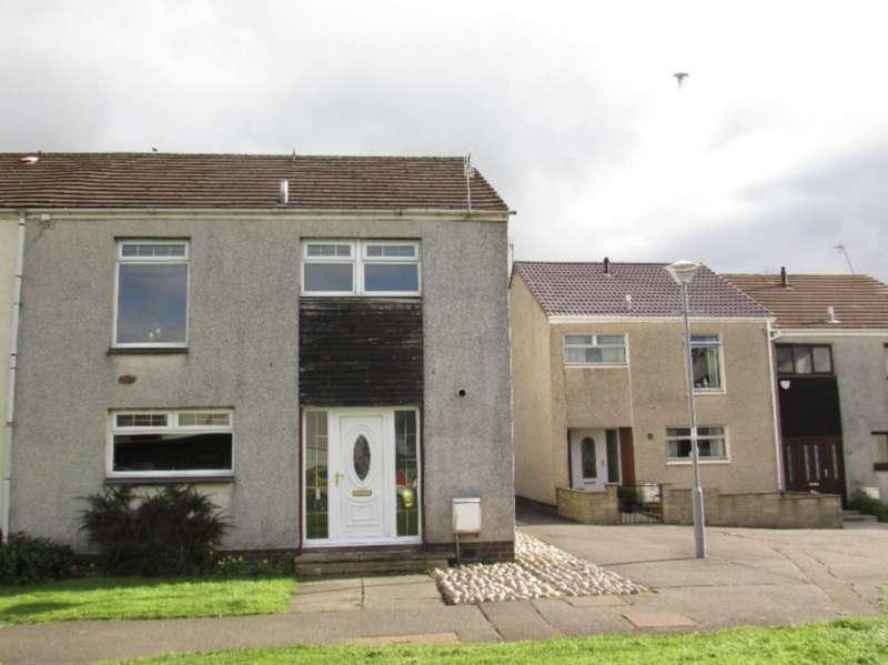 3 Bedrooms End Of Terrace House for sale in Walker Court, Cumnock KA18