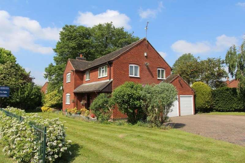 4 Bedrooms Detached House for sale in Leicester Road, Sharnford, Hinckley