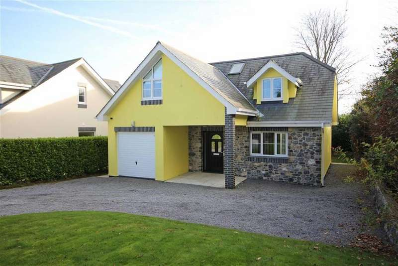 4 Bedrooms Detached House for sale in Higher Warborough Road, Galmpton, Brixham, TQ5