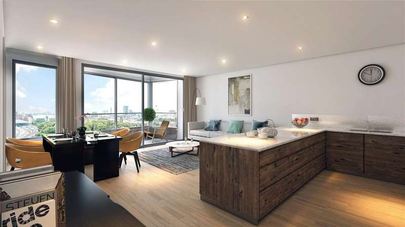 1 Bedroom Apartment Flat for sale in Onyx Apartments, Camley Street, King's Cross, London, N1C