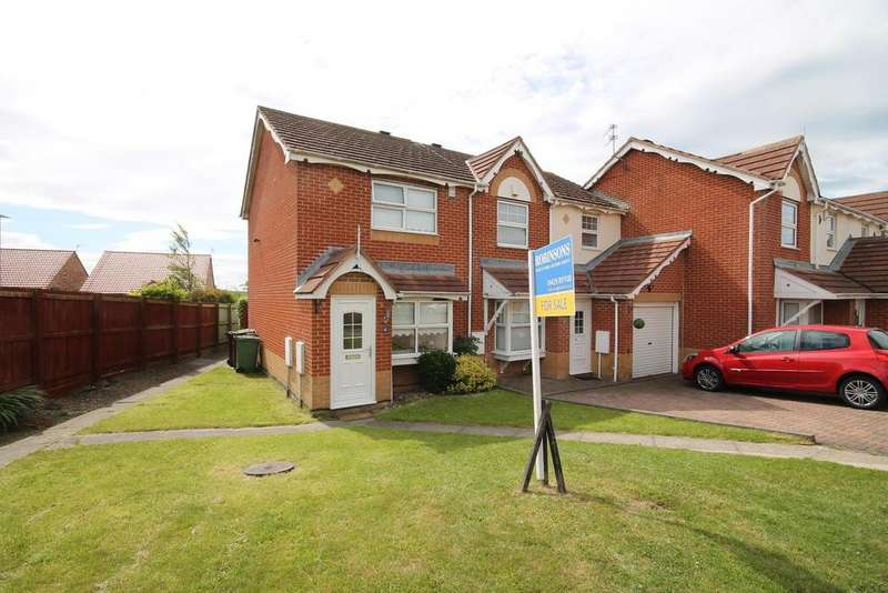 2 Bedrooms End Of Terrace House for sale in Templeton Close, Highfields, Hartlepool