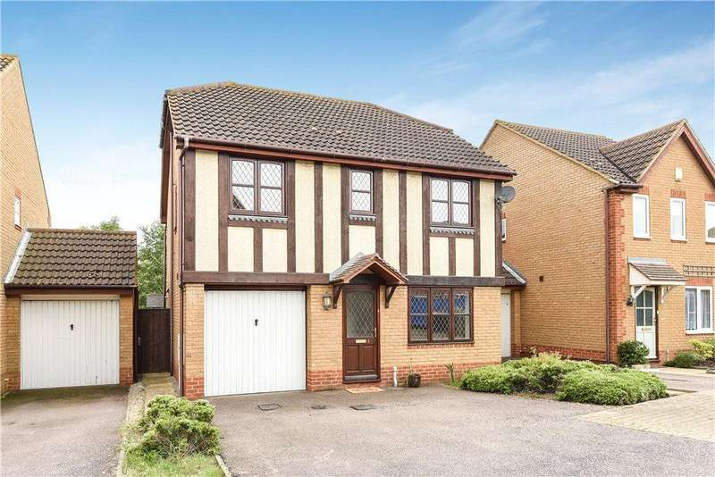 4 Bedrooms Detached House for sale in Whitings, Great Denham, Bedford, Bedfordshire
