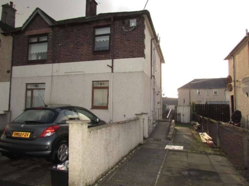 2 Bedrooms Flat for sale in Holm Road, New Cumnock KA18
