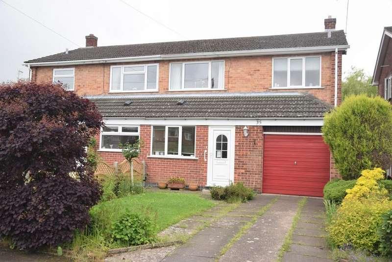 3 Bedrooms House for sale in Grange Close, Ashby De La Zouch, LE65