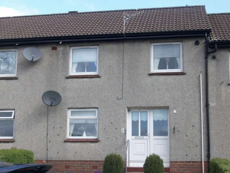 2 Bedrooms Terraced House for sale in Steven Crescent, Muirkirk KA18