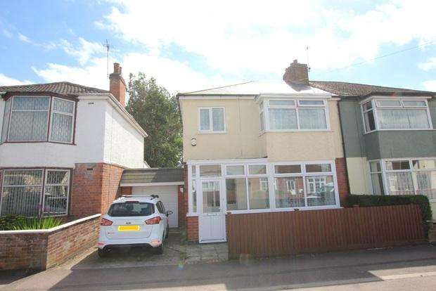 3 Bedrooms Semi Detached House for sale in Mostyn Avenue, Syston, Leicester, LE7