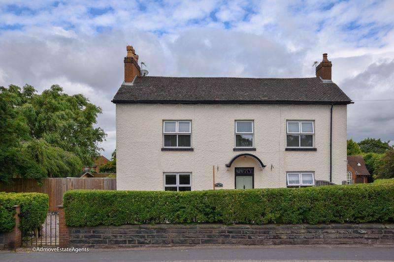 5 Bedrooms Detached House for sale in Hope Cottage, Booths Hill Road, Lymm, WA13