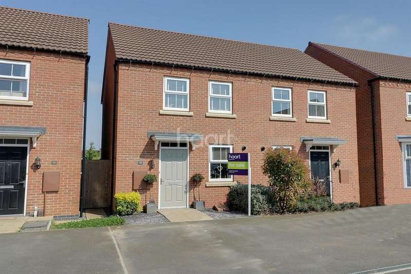 2 Bedrooms Semi Detached House for sale in Knaresborough Drive, Grantham