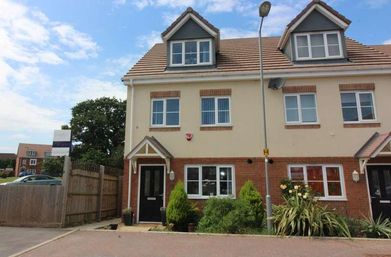 4 Bedrooms End Of Terrace House for sale in Verde Close, Luton, LU2