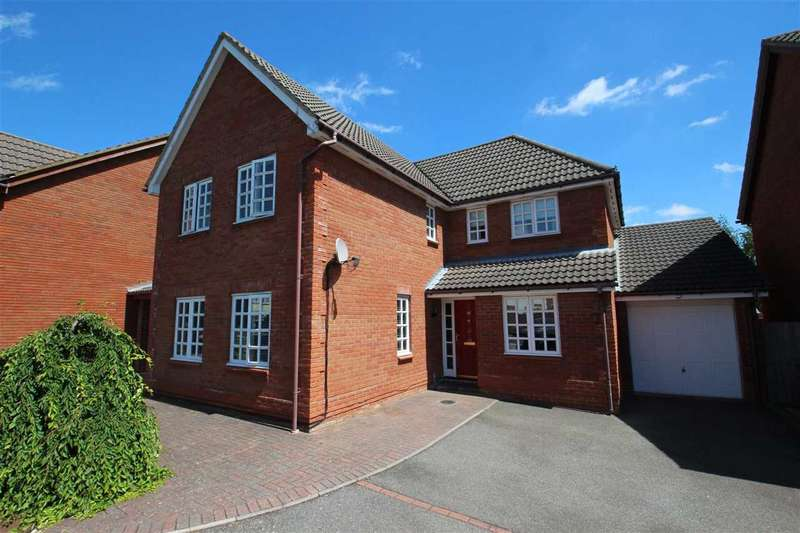 4 Bedrooms Detached House for sale in Howlett Close, Kesgrave, Ipswich