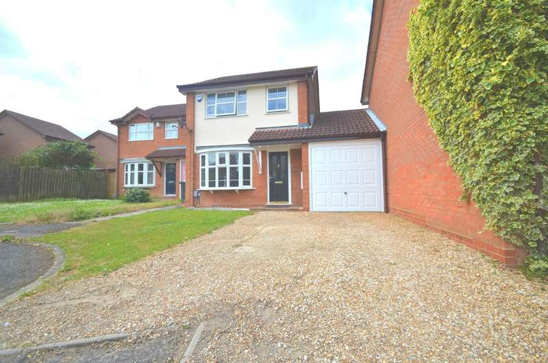 3 Bedrooms Link Detached House for sale in Westminister Gardens, Kempston