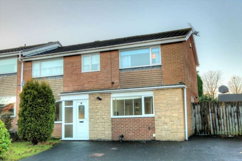 5 Bedrooms Semi Detached House for sale in Hartburn Drive, Chapel Park, Newcastle Upon Tyne, NE5