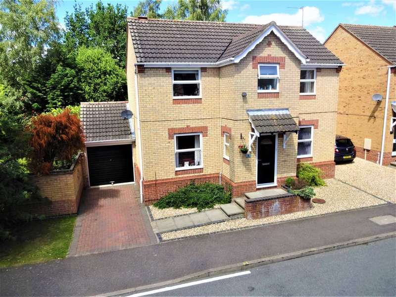4 Bedrooms Detached House for sale in Baker Crescent, Lincoln