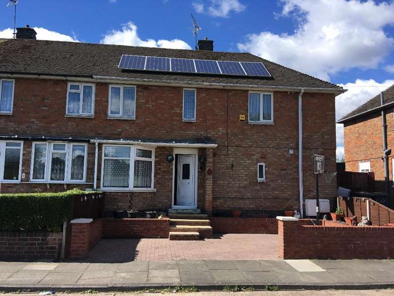 3 Bedrooms Semi Detached House for sale in Gervas Road, Thurnby Lodge, Leicester, Leicestershire, LE5 2EH