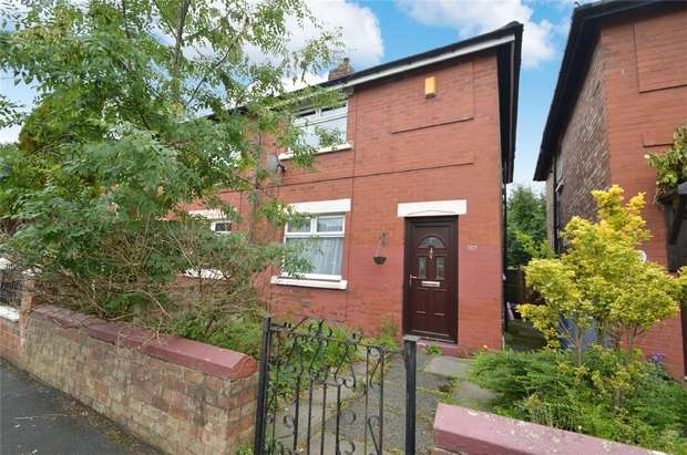 2 Bedrooms Semi Detached House for sale in Hesketh Street, Heaton Norris, Stockport, Cheshire