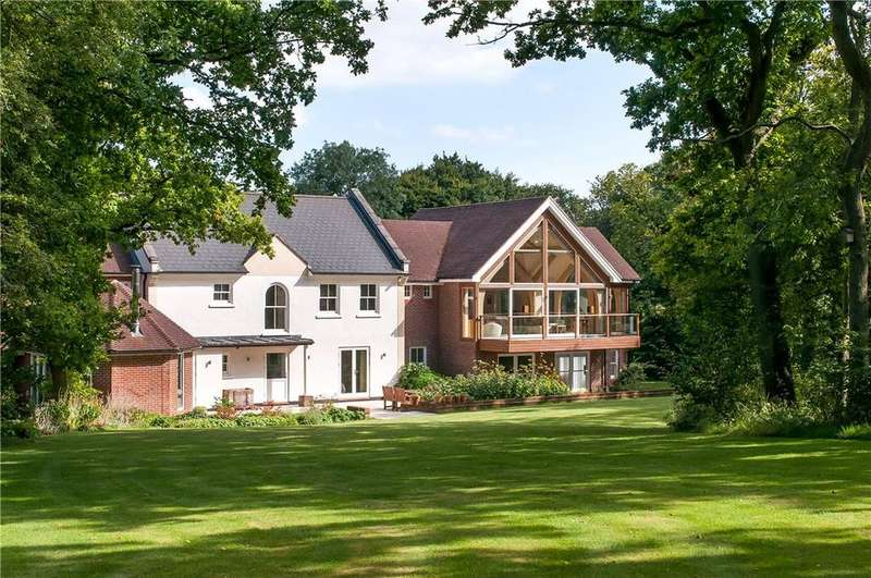6 Bedrooms Detached House for sale in Old Park Road, Bishop's Sutton, Alresford, Hampshire, SO24