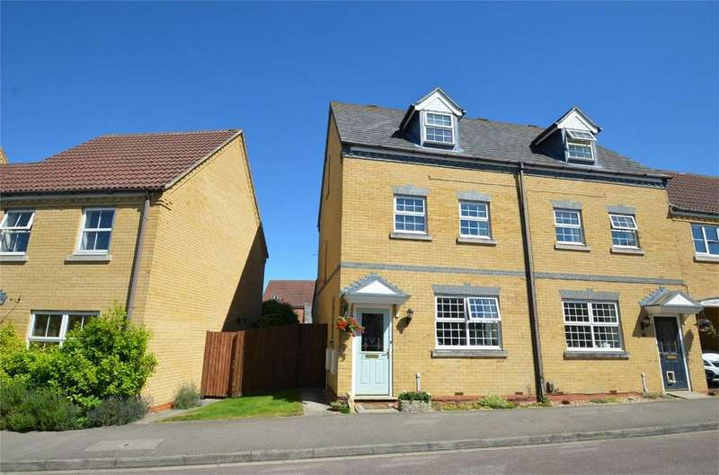 3 Bedrooms End Of Terrace House for sale in Mallard Close, SHEFFORD, Bedfordshire