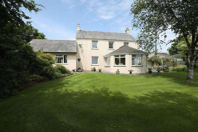 3 Bedrooms Farm House Character Property for sale in Bokiddick, Bodmin