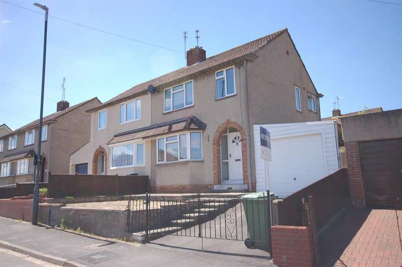 3 Bedrooms Semi Detached House for sale in Gages Road, Kingswood, Bristol, BS15 9UQ