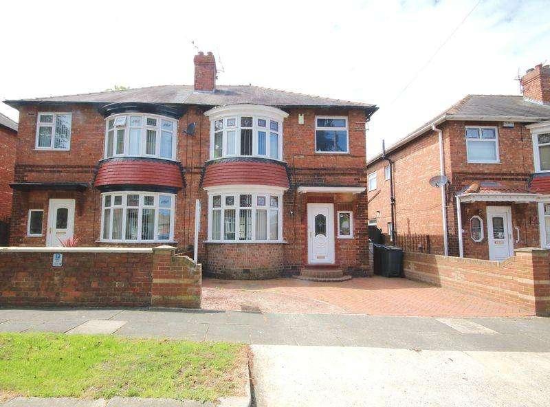 4 Bedrooms Semi Detached House for sale in Brankin Drive, Darlington