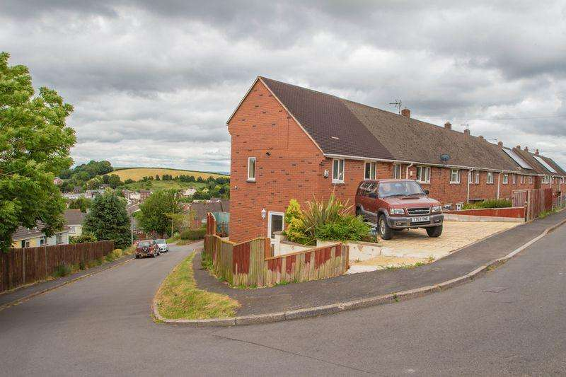 2 Bedrooms Terraced House for sale in Spruce Park, Crediton