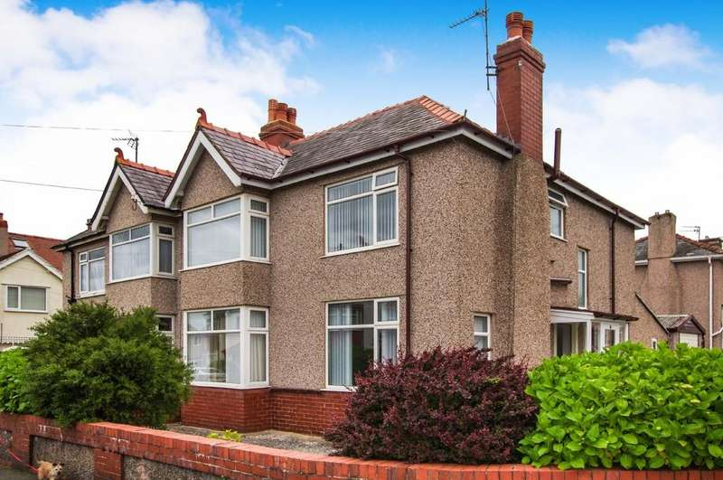3 Bedrooms Semi Detached House for sale in Victoria Road, Old Colwyn