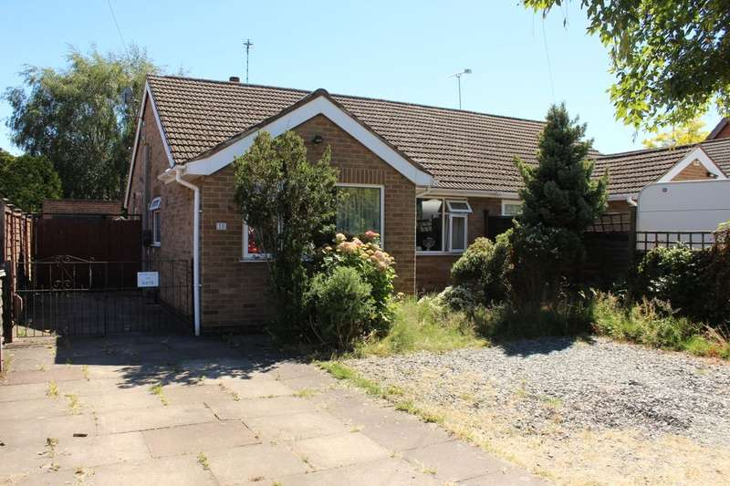 2 Bedrooms Bungalow for sale in Quorn Close, Loughborough, LE11