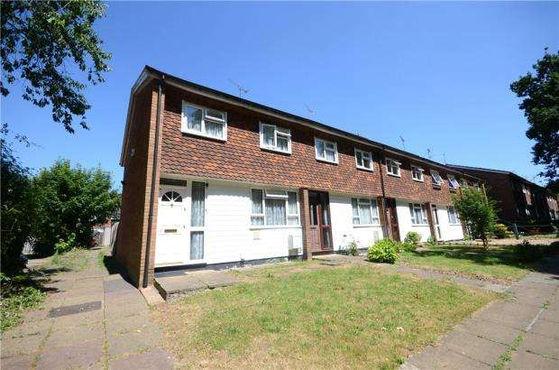 3 Bedrooms End Of Terrace House for sale in Eliot Close, Emmer Green, Reading