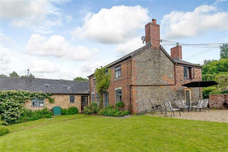 4 Bedrooms Farm House Character Property for sale in Coed Y Gaer Fawr, Llandinam, Powys, SY17