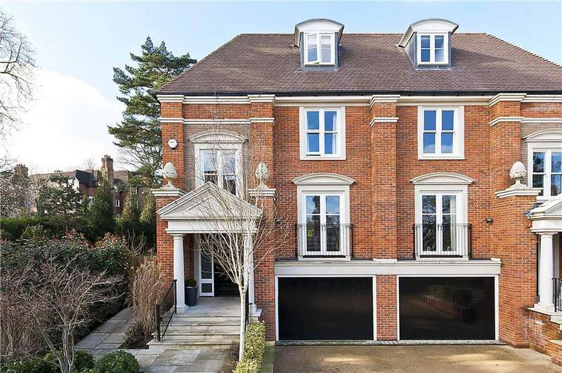 4 Bedrooms Semi Detached House for sale in St. Georges Place, Esher, Surrey, KT10
