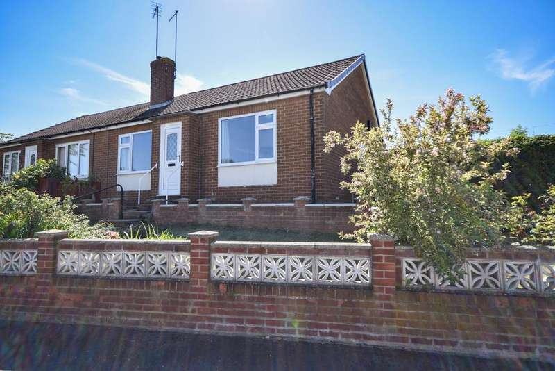 2 Bedrooms Semi Detached Bungalow for sale in Oldham Close, Boosbeck TS12