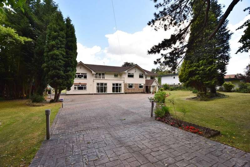 7 Bedrooms Detached House for sale in Brooks Drive, Hale Barns.