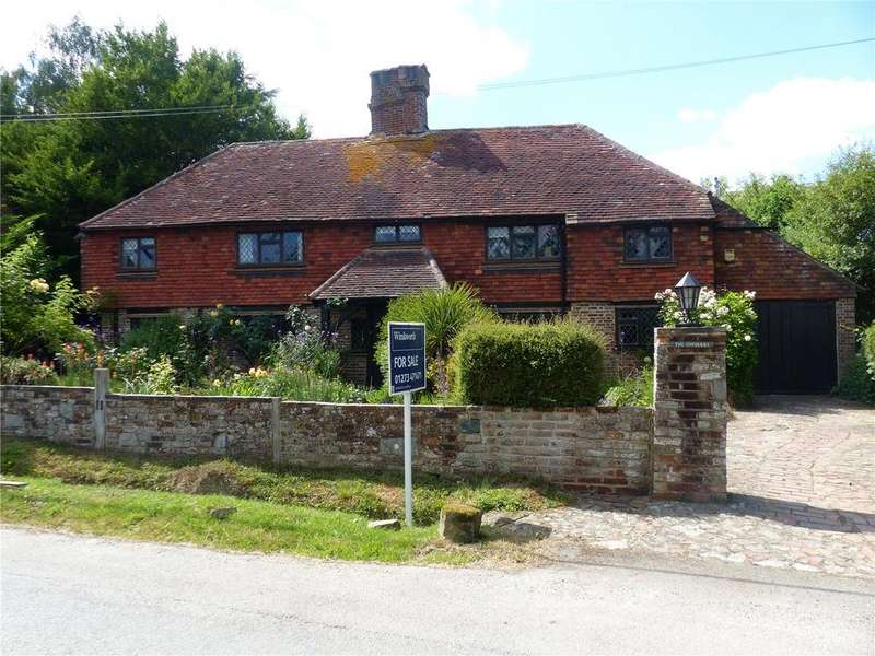 5 Bedrooms Detached House for sale in The Chequers, Broomham Lane, Whitesmith, East Sussex, BN8
