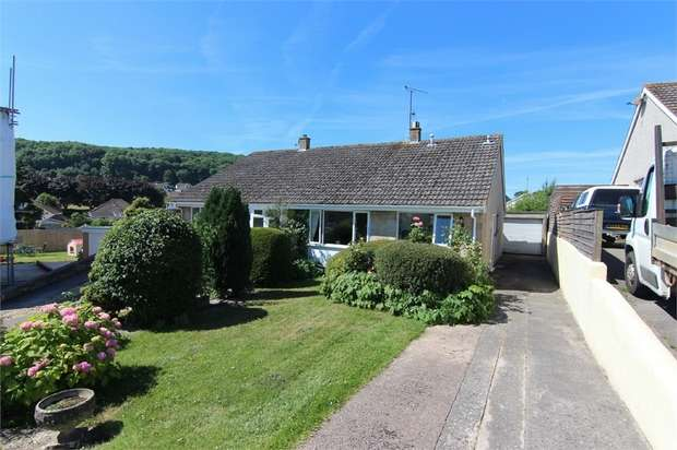 2 Bedrooms Semi Detached Bungalow for sale in Wolvershill Park, North Somerset