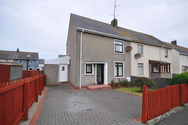 2 Bedrooms Semi Detached House for sale in 21 Smith Crescent, Girvan KA26