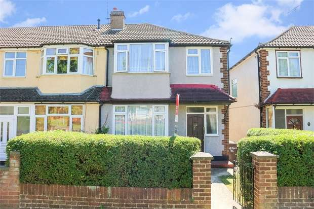 3 Bedrooms End Of Terrace House for sale in Moira Close, Luton, Bedfordshire