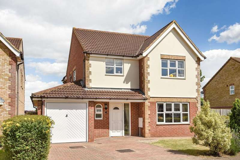 4 Bedrooms Detached House for sale in Naseby Place, Flitwick, MK45