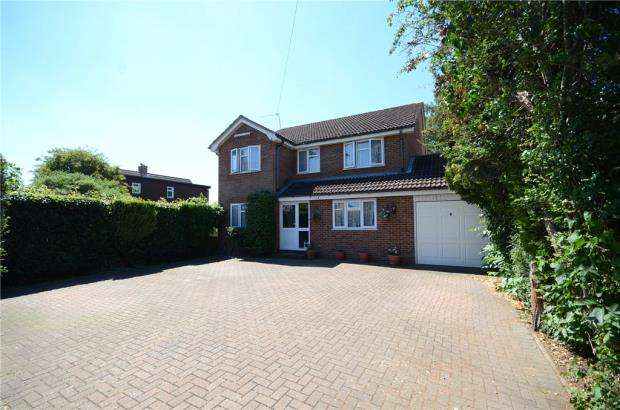 4 Bedrooms Detached House for sale in Brading Way, Purley on Thames, Reading