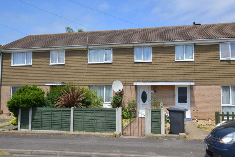 3 Bedrooms Terraced House for sale in Singleton Drive, Ensbury Park, Bournemouth