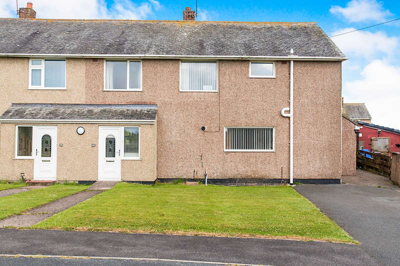 4 Bedrooms Semi Detached House for sale in Gosforth Road, Seascale, CA20