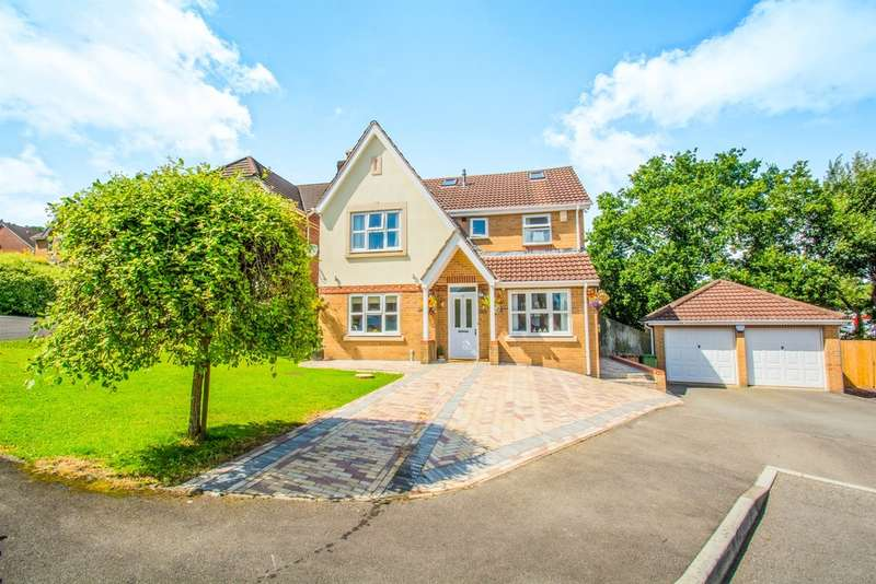 7 Bedrooms Detached House for sale in Camnant, Ystrad Mynach, Hengoed